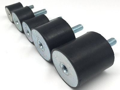 B-MF Rubber Mounting, Shock Absorber